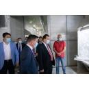 Visite du Premier ministre Ludovic Orban à l'usine de porcelaine Fiorello à Focșani