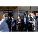 Le Premier ministre Ludovic Orban a visité l'objectif d'investissement du PNDL, réhabilitation de la rue Milcovul,(...)
