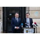 Press statements by Prime Minister Ludovic Orban and the Health Minister Nelu Tătaru