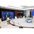 Consultările premierului Ludovic Orban, în sistem videoconferință, cu reprezentanții editurilor și librăriilor