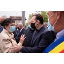 Vizita premierului Florin Cîțu la Centrul de vaccinare din Spitalul orășenesc Gura Humorului