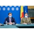 Conférence de presse donnée par Valeriu Gheorghiță, président du Comité national de coordination des activités(...)