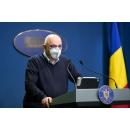 Declaraţii de presă susținute de șeful DSU, secretar de stat în Ministerul Afacerilor Interne, Raed Arafat, şi de(...)