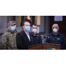 Declarații de presă susținute de premierului Florin Cîțu, alături de coordonatorul campaniei de vaccinare(...)
