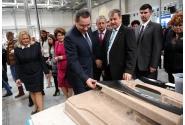 Premierul Victor Ponta a participat la inaugurarea noii hale de producție Draxlmaier-parte a Draxlmaier Group